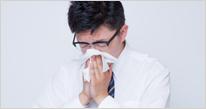 アレルギー性鼻炎にも